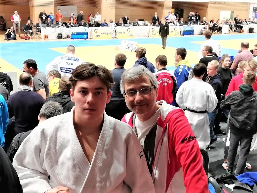 Maximus und Thomas bei der Deutschen Meisterschaft in Leipzig